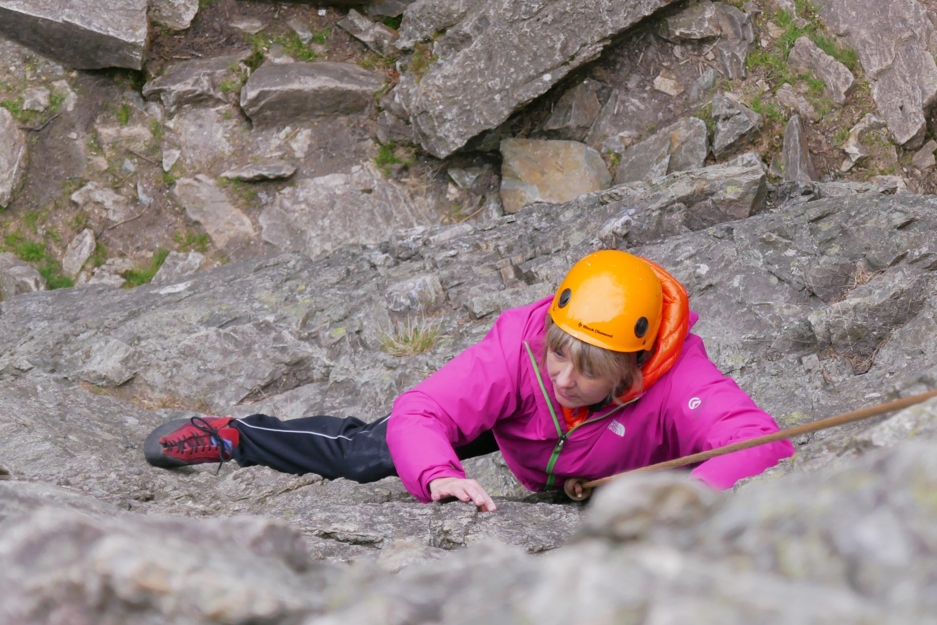 Womens Rock Climbing Course North Wales – Louise Tully 6b2337422