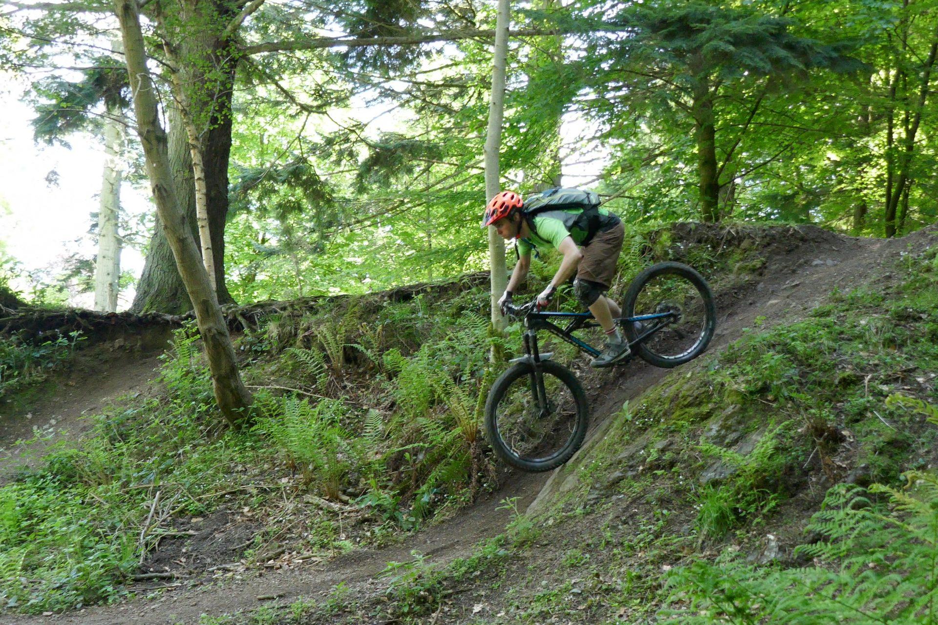 mountain biking skills course