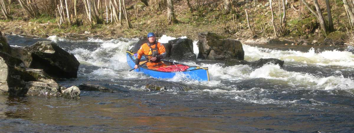 Intermediate Canoeing Course North Wales
