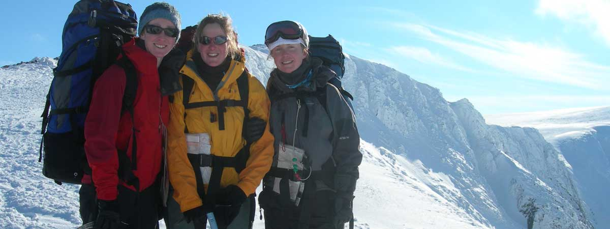 Winter Guided Mountain Walking