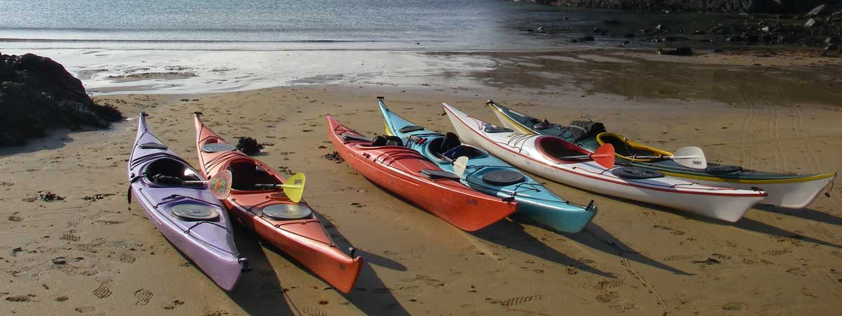 Sea kayaking Course Anglesey