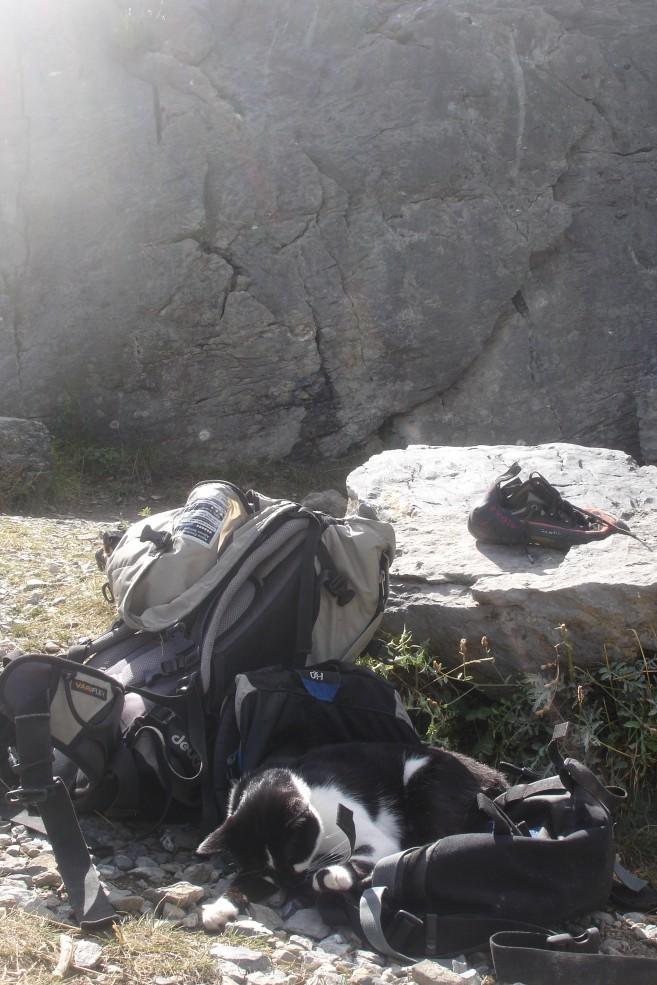 Valley cragging