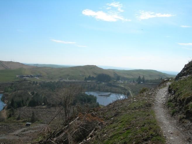 Nant yr Arian mountain biking