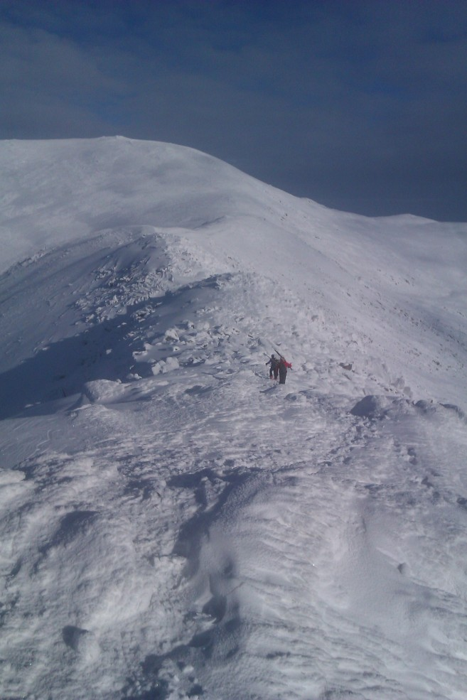 ski touring north wales