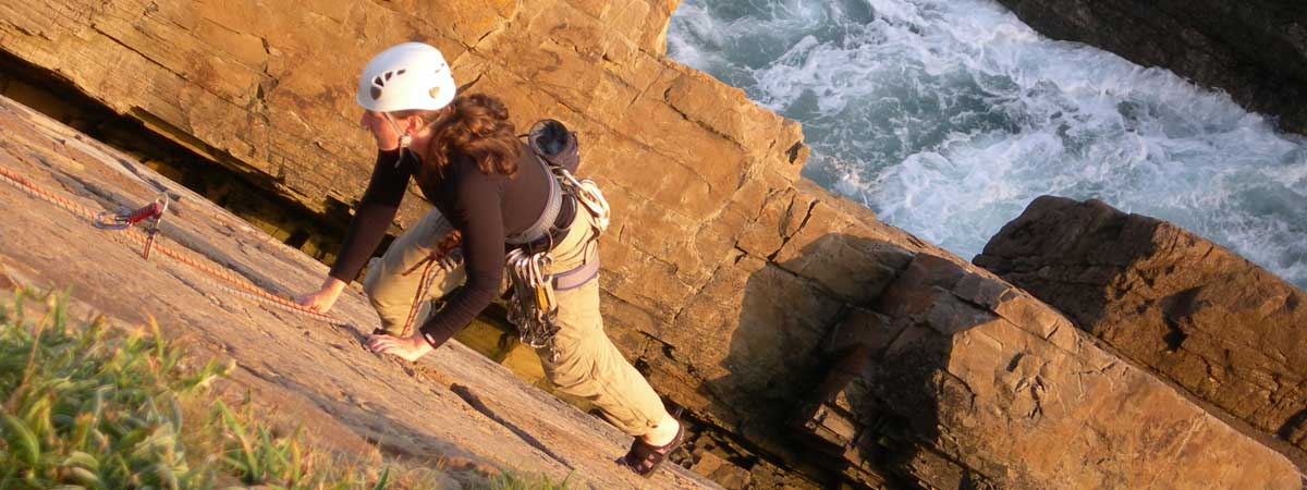 Womens Rock Climbing Course North Wales